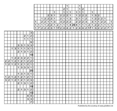 Griddlers puzzle 186133 - Parking Sign Logigrafika Pinterest - semilog graph paper