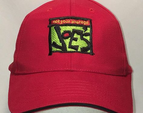 87207b2d2d27d Vintage Strapback Restaurant Employee Hat Dad Hats For Men Green Red Black  Not Your Average Joes Caps