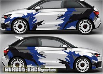 Audi A1 Racing Rally Graphics Audi A1 Audi