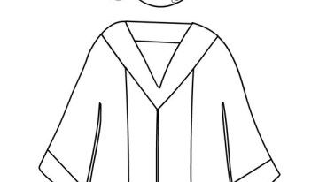 Graduation Cap And Gown Template Graduation Cap And Gown Cap