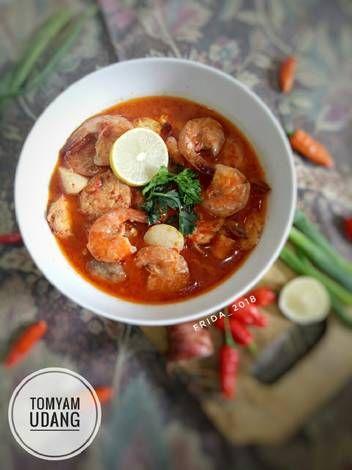 Resep Tomyam Udang Oleh Fridanela Adela Silaban Resep Memasak Makanan Dan Minuman Resep Masakan
