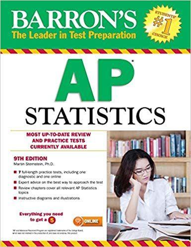 DOWNLOAD>][PDF] Barron's AP Statistics, 9th Edition PDF EPUB