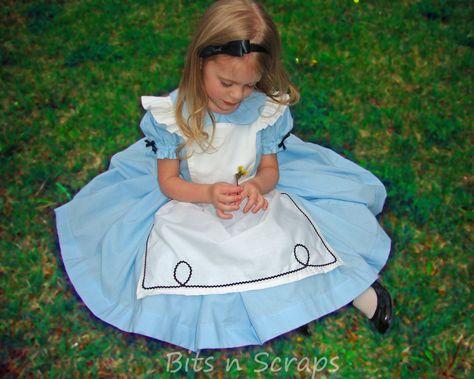 Alice In Wonderland dress.
