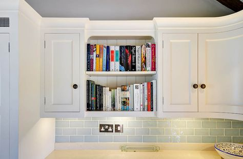 The Grange Kitchen Cookery Book Shelf Our Handmade Kitchens