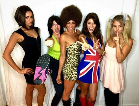 Nina Dobrev as Victoria Beckham - Celebs Dressed As Other Celebs For Halloween - Photos