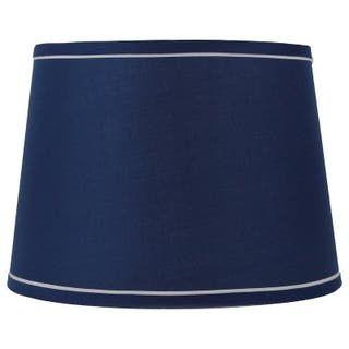 Lamp Shades In 2020 Blue And White Lamp Blue Lamp Shade Navy Lamp Shade
