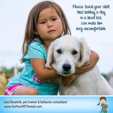 Teach Your Child No Dog Headlocks Dogs Dog Biting Dog