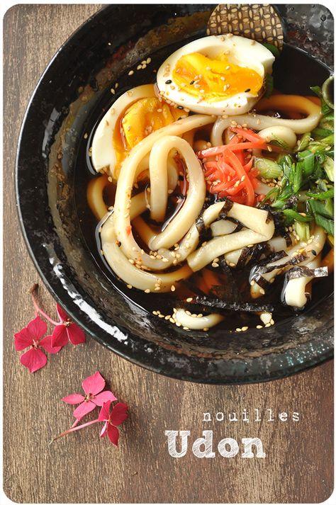 Nouilles udon maison (comme au Japon!) par Pich à la fraise !