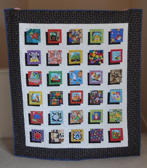 Pop Out I Spy Quilt Pattern by PatchworkPoint on Etsy