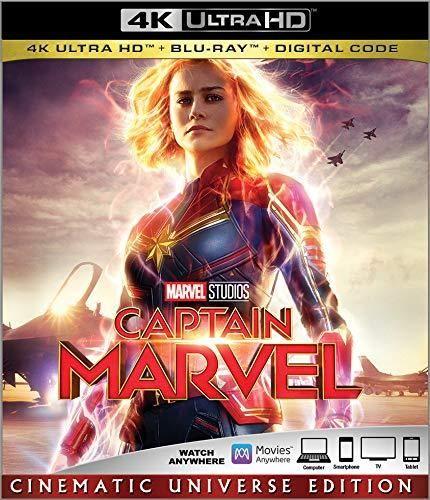 CAPTAIN MARVEL [Blu-ray] - Default