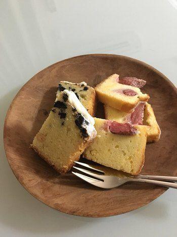 アレンジ無限大 パウンドケーキ作ってみない キナリノ パウンドケーキ 食べ物のアイデア レシピ