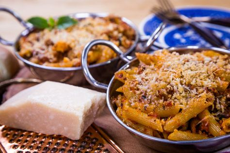 Make a Turkey Bolognese Baked Ziti w/ @cristinacooks on #homeandfamily! Tune in weekdays at 10/9c on Hallmark Channel!