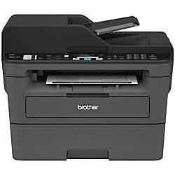 Brother Compact Wireless Monochrome Laser All In One Printer Scanner Copier Fax Mfc L2710dw Multifunction Printer Printer Scanner Copier Wireless Printer