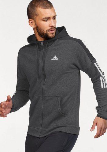 Adidas Performance Trainingsjacke »essentials Solid« Grau