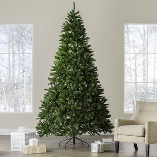 8 9 Foot 9 10 Foot Christmas Trees You Ll Love Wayfair White Artificial Christmas Tree Cool Christmas Trees Pre Lit Christmas Tree