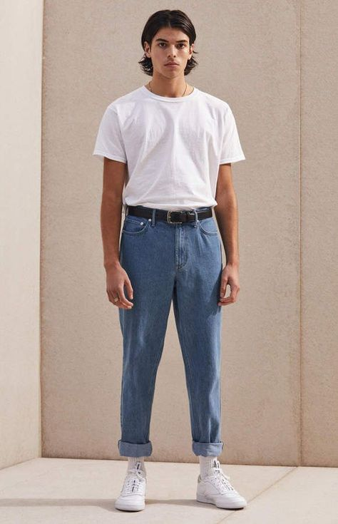 Elevate your cool, laidback style with help from the PacSun Medium Slim Fit Jeans. These jeans have a five-pocket design, a versatile slim fit, a go-to medium wash, and our Comfort Sretch fabrication for everyday motion. Outfits Casual, Retro Outfits, Grunge Outfits, Vintage Outfits, Boujee Outfits, 80s Style Outfits, Cochella Outfits, Fashion Outfits, Fashion Clothes