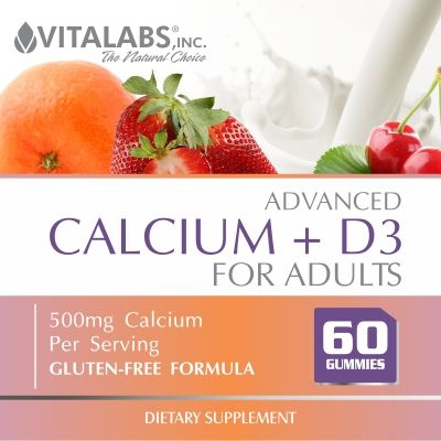 Calcium + D3 Gummies JUST ARRIVED! #vitalabs #vitalabsinc #gummy