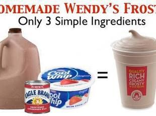 WENDYS HOMEMADE FROSTYS