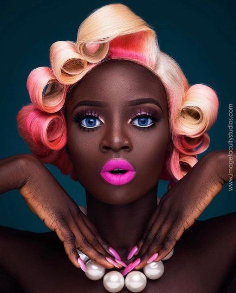 "@chocolate.dolli_cosmetics posted on Instagram: ""💖💖💖Black Barbie by @imagefaculty 👱🏿‍♀️ #lovesit #inspiration #chocolatedolli💕"" • Jul 6, 2020 at 4:27pm UTC"