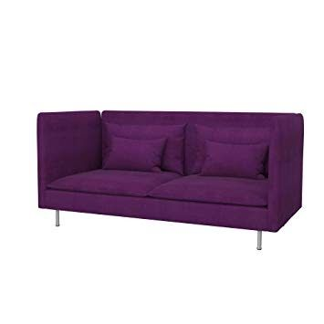 Modern Purple Couch Ikea Amazon Com Soferium I K E A So