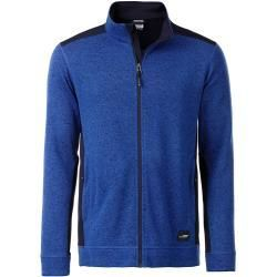 James /& Nicholson Herren Jacke Jacke Knitted Fleece Jacket