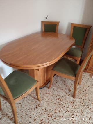 Mesa De Segunda Mano Por 200 En Burgos En Wallapop Cantinas De Madera Mesa De Comedor Proyectos Interesantes Para Carpintería