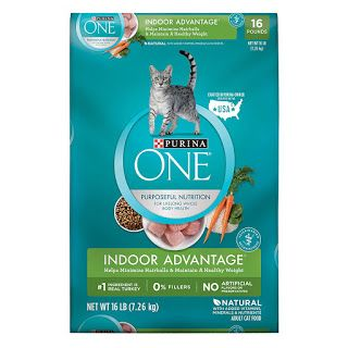 Review Cat Food Purina One Indoor Advantage Adult Dry Cat Food Dry Cat Food Cat Food Purina