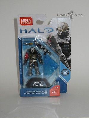Halo Spartan Emile And Master Chief FVK24 /& FVK26 MEGA HEROES SERIES 8