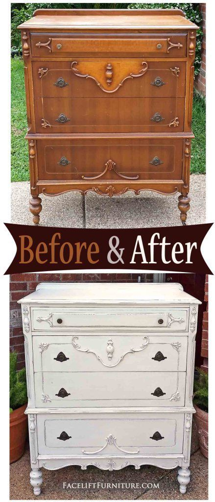 Ornate Chest In Distressed Antiqued