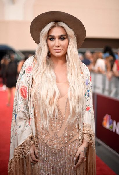 Recording artist Kesha attends the 2018 Billboard Music Awards.