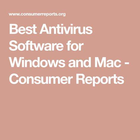 best antivirus for mac consumer reports