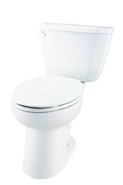 Viper 1 6 Gpf 12 Rough In Two Piece Compact Elongated Ergoheight Toilet Gerber Plumbing Toilet Plumbing Bathroom