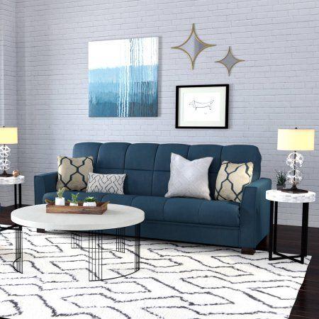 Baja Convert A Couch Sofa Sleeper Bed Dark Espresso Legs Medium