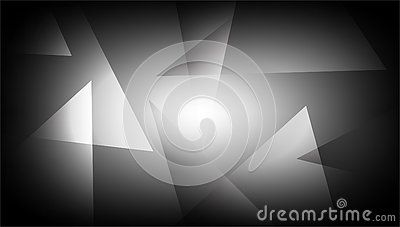 Abstract Grey Background Shaded Striped Pattern And Blocks In