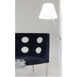 Luceplan Costanza Wandleuchte Mit Ein Aus Alu Kanariengelb Ein Aus H 76 110cm Aluminium Lucep In 2020 Decor Wall Lamp Home Decor