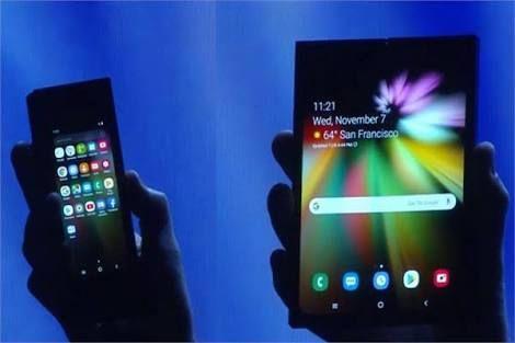 في مفاجأة غير سارة فشلت سامسونج في إكمال الهاتف القابل للطي هاتف سامسونج القابل للطي ويظهر في صورة م Samsung Galaxy Tablet Galaxy