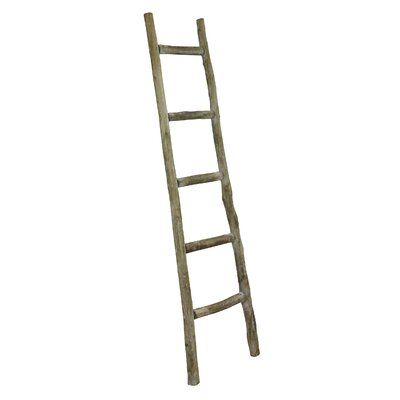 5 Ft Blanket Ladder Color Natural Olive In 2020 Blanket Ladder Rustic Blanket Ladder Ladder