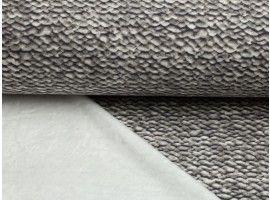 Sweat Mit Fell Alpenfleece Strickoptik Grau Konigreich Der Stoffe Stoffe Kinder Stoffe