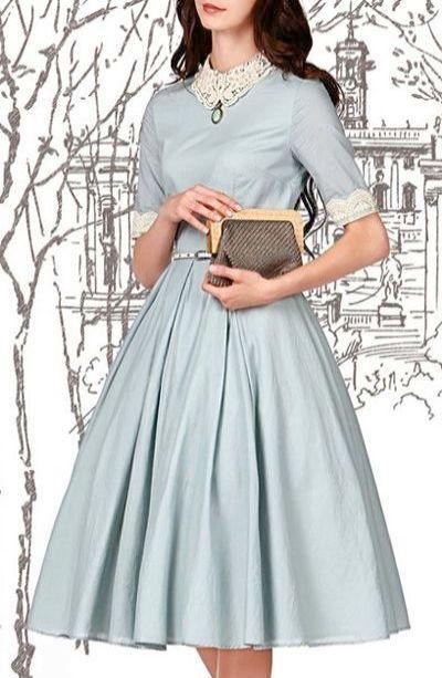 Vintage Dress Jewellery Uk 50s Dresses In Leeds Vintage 1950s Dresses Flare Dress Vintage Dresses