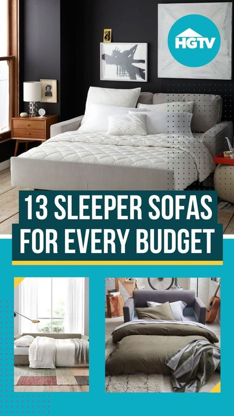 Sleeper sofas are one of the most practical dual-functioning pieces of furniture you can buy. Historically boxy and not always attractive, sleeper sofas and sofa beds have thankfully come a long way in terms of providing versatility and style. 🙏 Shop our favorite top-rated options on the market, and check out our tips for what to consider when purchasing a sleeper sofa. 😎