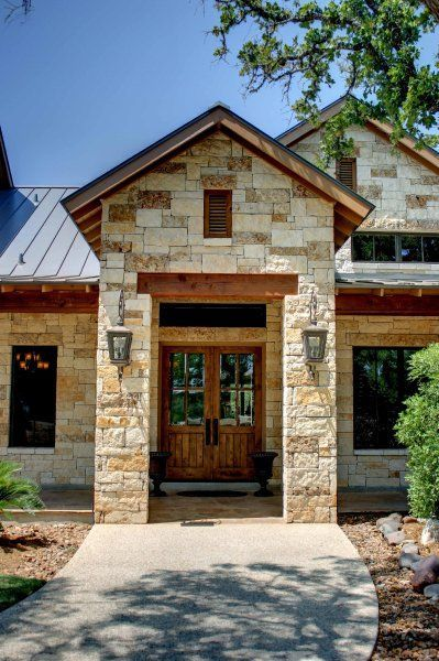 Found On Bing From Www Pinterest Com Hill Country Homes Country Home Exteriors Stone Exterior Houses