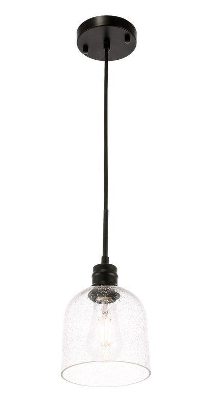 Lowenthal 1 Light Single Bell Pendant Pendant Lighting Light