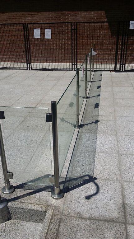 Barandilla Para Piscina Cristal Y Aluminio Inox Ms Cl Bar021 Barandilla Escalera Interior Barandillas Escaleras Barandas