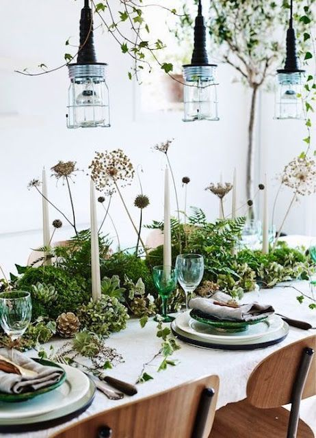 Lei Living Christmas Table Decorations Green Christmas Decorations Table Decorations