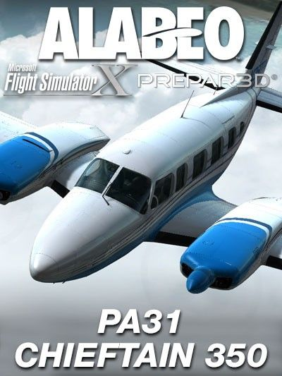 ALABEO : PA31 Chieftain 350 Features Flight1 GTN 750* integration