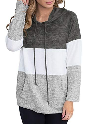 7b165133533c Aleumdr Mujer Pullover Deportivo Sweatshirt 2018 Sudadera Moderna ...
