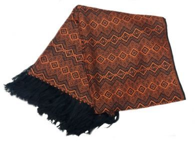 Braune Wolldecke Peruanische Alpakawolle 170 X 130 Cm