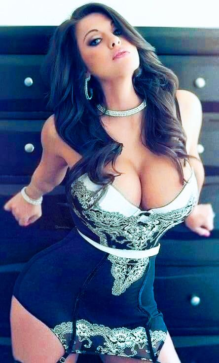 Sexy big breasted woman
