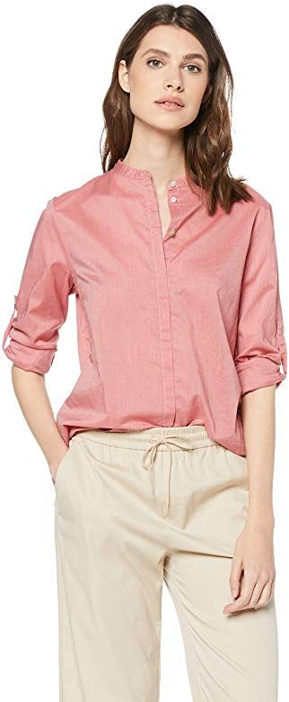 Boss Damen Efelize 17 Bluse Rosa Altrosa 632 Herstellergrosse 40 Boss Damen Bluse Damen