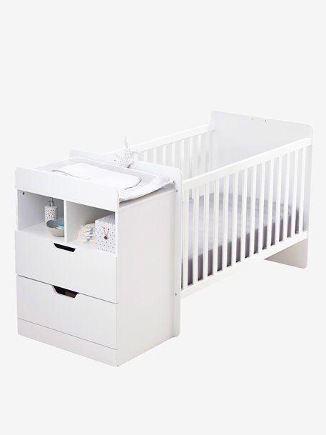 Lit Combine Enfant Evolutif Combilit Blanc Blanc Gris 1 Lit Bebe Design Lit Combine Enfant Lit Bebe